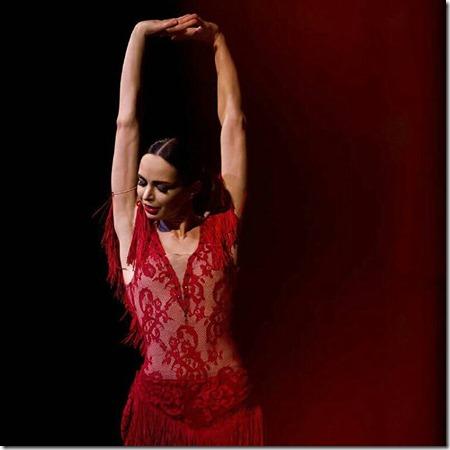 Диана Вишнева - Кармен, выступление в Баден-Бадене
