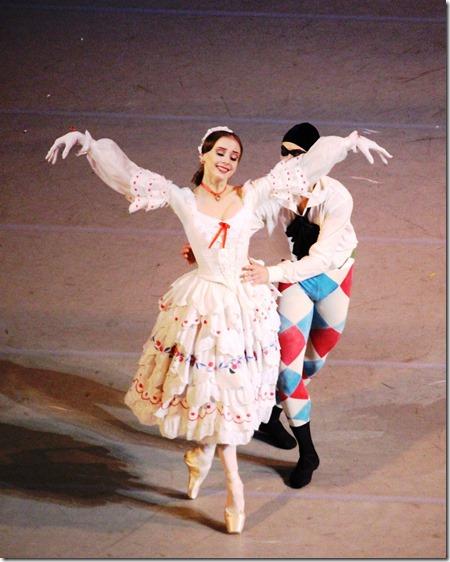 Анастасия Лукина и Ярослав Байбордин в балете Карнавал