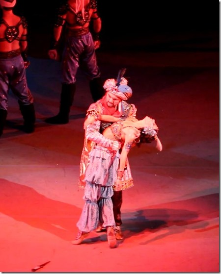 Виктория Терешкина и Владимир Пономарев в балете Шехерезада