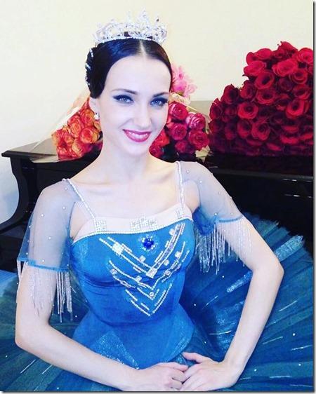 Юлия Степанова - прима-балерина Большого театра