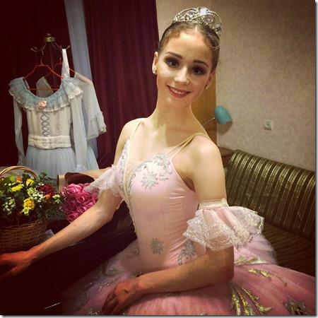 Анастасия Лукина - дебют в партии Маши Щелкунчик