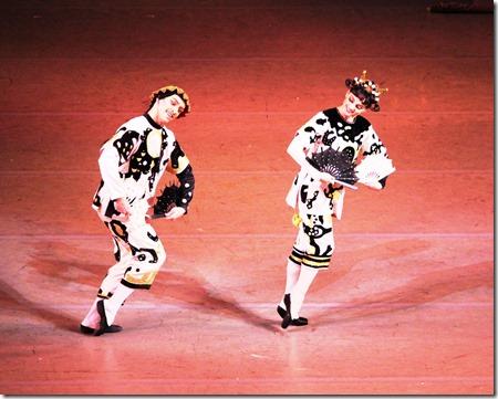 Максим Изместьев и Анастасия Асабен Китайский танец