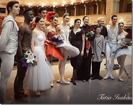 Юлия Степанова и Алена Ковалева выступили в Тбилиси