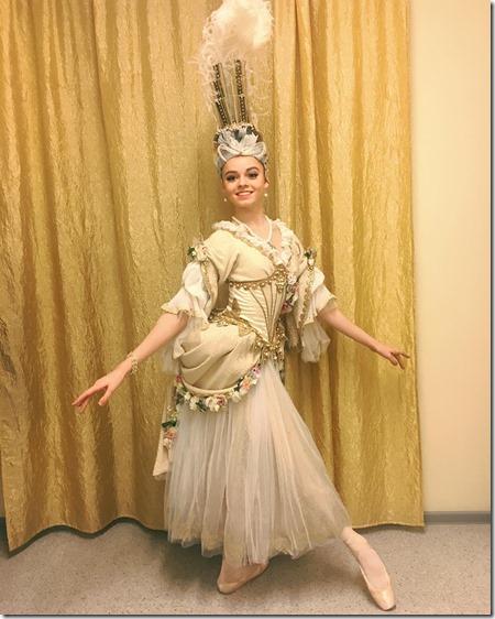 """Елизавета Куликова дебют в Контр-дансе балета """"Медный всадник"""" Мариинский театр"""