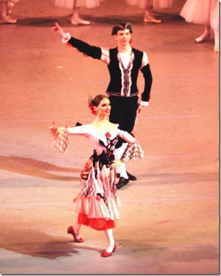 Алиса Русина и Борис Журилов в Испанском танце