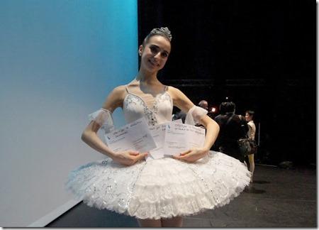 Лаура Фернандес-Громова, победительница конкурса Prix de Lausanne