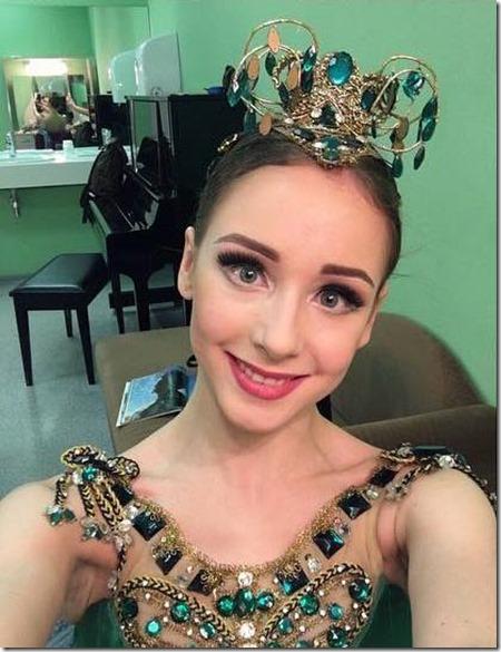 Анастасия Лукина дебютировала в Изумрудах