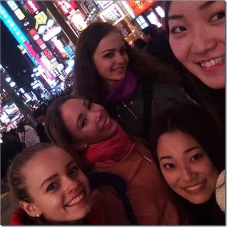С японскими зрителями