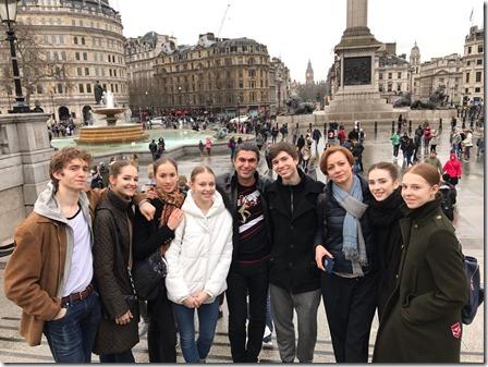 студенты АРБ Вагановой в Лондоне
