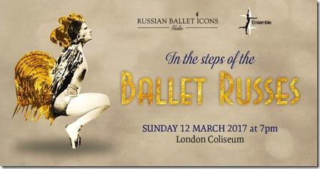 афиша Гала-концерта «Иконы русского балета» The Russian Ballet Icons