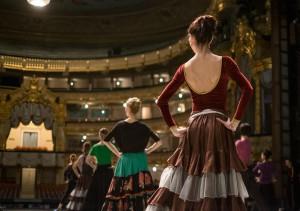 Репетиция премьеры балета Пахита