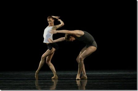 Екатерина Кондаурова и Андрей Ермаков танцуют балет Инфра
