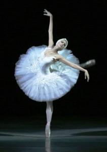 Екатерина Чебыкина впервые исполнила хореографическую миниатюру Лебедь