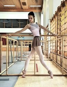 Мария Хорева - студентка Академии русского балета им. Вагановой