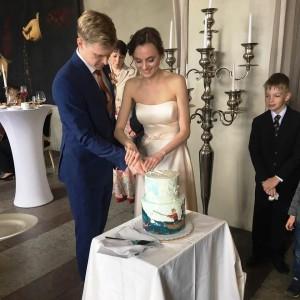 Свадьба Анастасии Асабен и Алексея Попова
