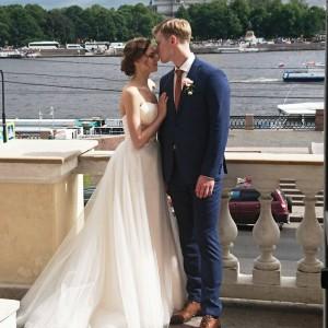 Свадьба артистки балета Мариинского театра Анастасии Асабен и музыканта Алексея Попова