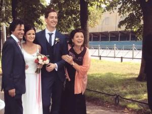 свадьба Алины Красовской и Александра Романчикова
