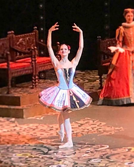 Дебют Элеоноры Севенард на сцене Большого театра