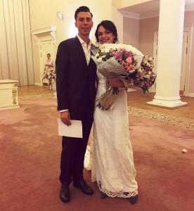 Екатерина Иванникова и Максим Петров поженились