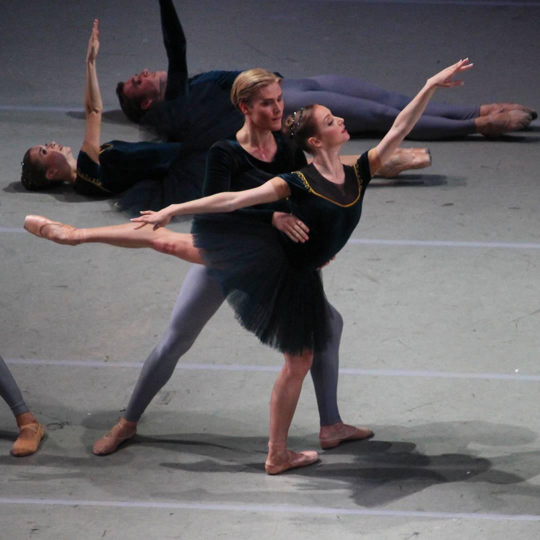 Анастасия Лукина в балете Скрипичный концерт № 2