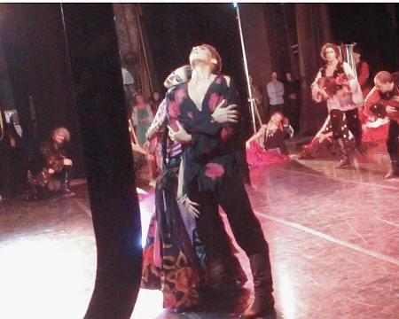 """Алиса Русина и Наиль Еникеев исполняют Цыганский танец в балете """"Каменный цветок"""""""
