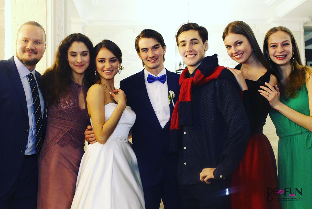 Свадьба Наиля Хайнарсова и Алисы Русиной