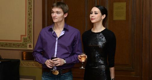 Александр Сергеев и Виктория Брилева