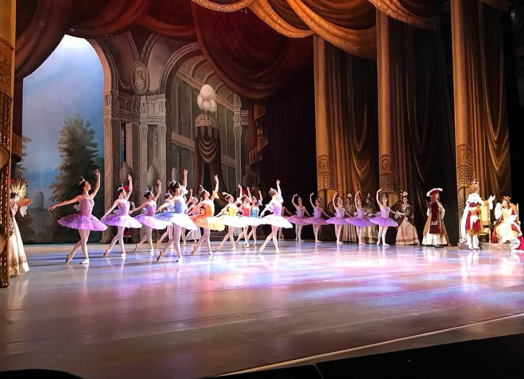 дебют Марии Ильюшкиной в партии Феи Сирени балета Спящая красавица