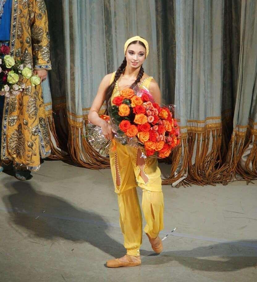 Дебют Марии Булановой в балете Бахчисарайский фонтан