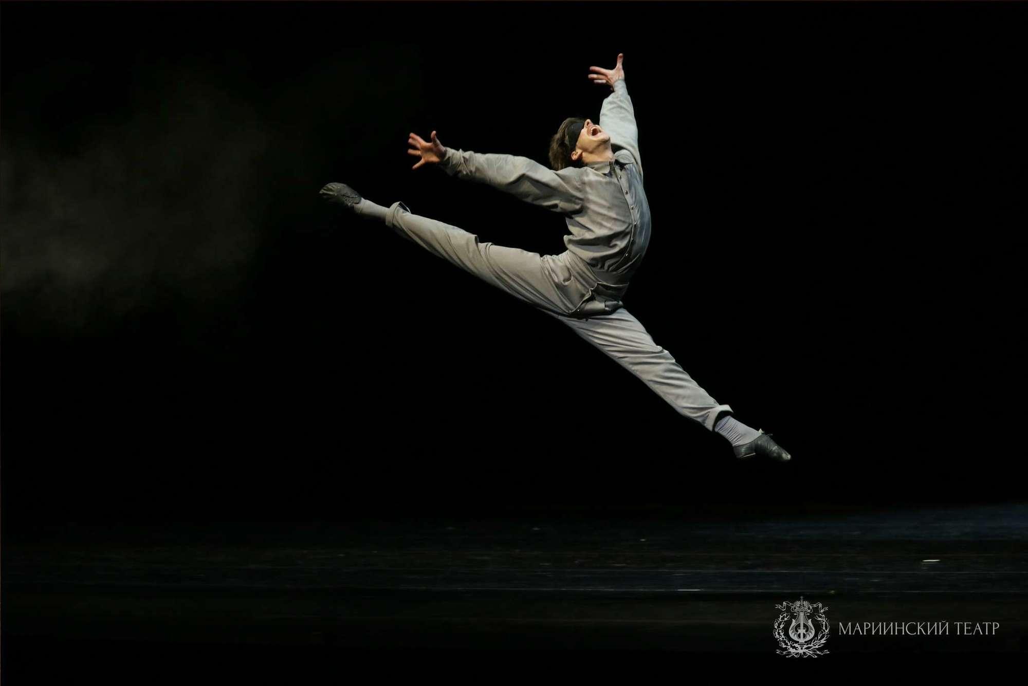 Владимир Шкляров в балете Камера-обскура