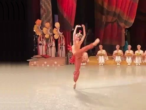 Елена Лыскова - дебют в балете Бахчисарайский фонтан