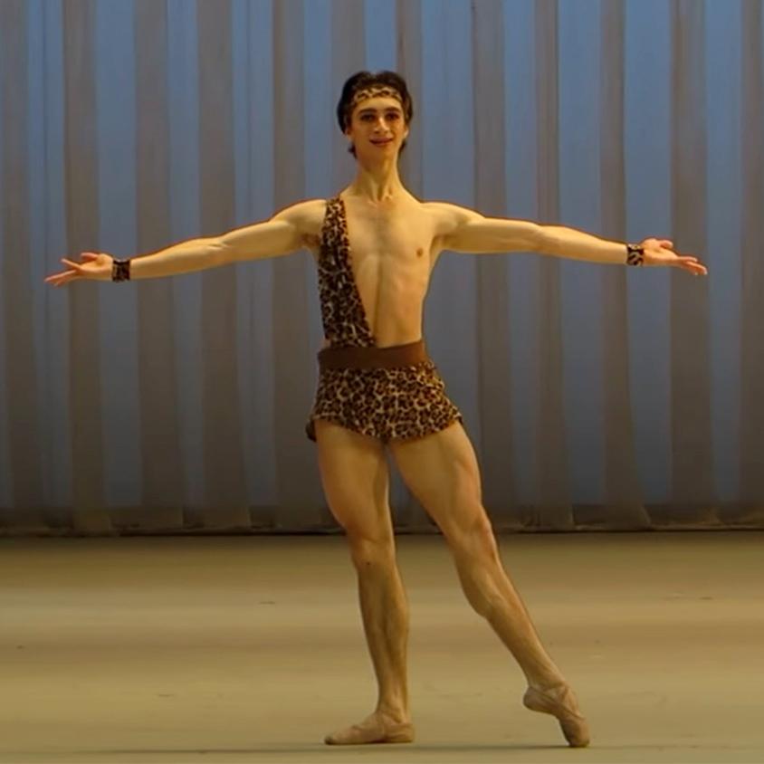 Артист балета Давид Залеев