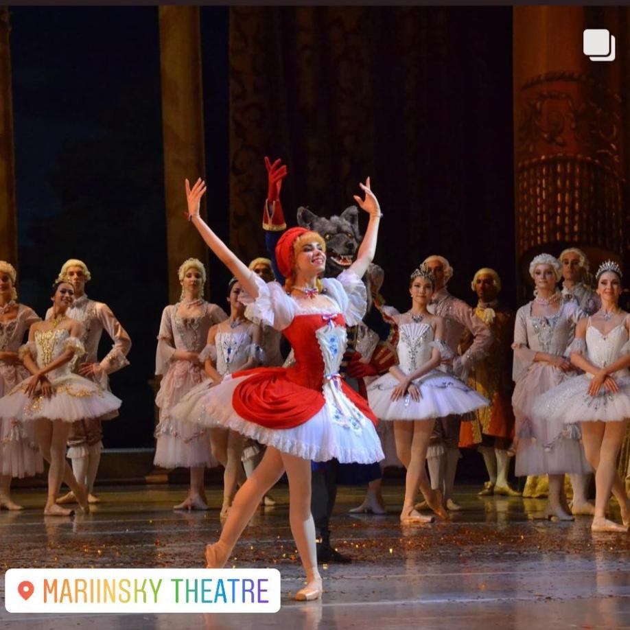 Лада Сартакова - Красная Шапочка балет Спящая красавица